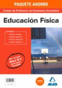 PAQUETE AHORRO EDUCACIÓN FÍSICA  CUERPO DE PROFESORES DE ENSEÑANZA SECUNDARIA