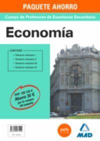 PAQUETE AHORRO ECONOMÍA  CUERPO DE PROFESORES DE ENSEÑANZA SECUNDARIA