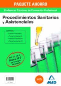 PAQUETE AHORRO PROCEDIMIENTOS SANITARIOS Y ASISTENCIALES CUERPO DE PROFESORES TÉCNICOS DE FORMACIÓN PROFESIONAL
