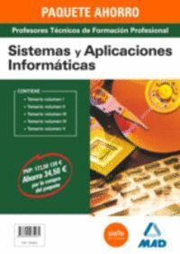PAQUETE AHORRO SISTEMAS Y APLICACIONES INFORMÁTICAS  CUERPO DE PROFESORES TÉCNICOS DE FORMACIÓN PROFESIONAL