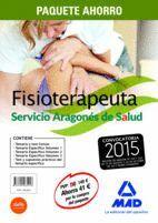 PAQUETE AHORRO FISIOTERAPEUTAS DEL SERVICIO ARAGONÉS DE SALUD (SALUD-ARAGÓN) INCLUYE TODOS LOS LIBROS DE ESTA ESPECIALIDAD, CON UN AHORRO DE 41 ?