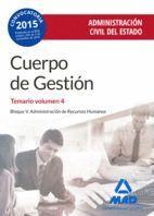 CUERPO DE GESTIÓN DE LA ADMINISTRACIÓN CIVIL DEL ESTADO.