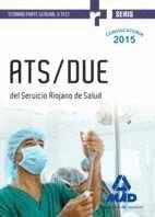 ATS/DUE DEL SERVICIO RIOJANO DE SALUD. TEMARIO PARTE GENERAL Y TEST