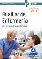 AUXILIARES DE ENFERMERÍA DEL SERVICIO RIOJANO DE SALUD. TEST PARTE ESPECIFICA