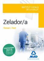 ZELADOR/A DE L' INSTITUT CATALÀ DE LA SALUT (ICS) . TEMARI I TEST