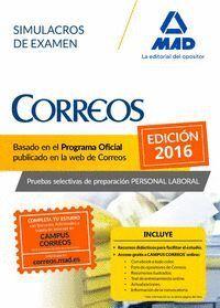 PERSONAL LABORAL DE CORREOS Y TELÉGRAFOS. SIMULACROS DE EXAMEN