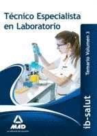 TÉCNICO/A ESPECIALISTA DE LABORATORIO DEL SERVICIO DE SALUD DE LAS ILLES BALEARS (IB-SALUT).