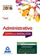 ADMINISTRATIVOS DE LA JUNTA DE ANDALUCÍA TURNO LIBRE. TEST