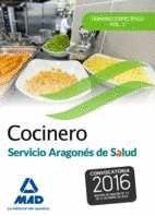 COCINERO DEL SERVICIO ARAGONÉS DE SALUD.