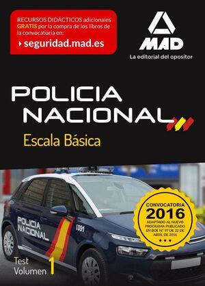 POLICÍA NACIONAL ESCALA BÁSICA.