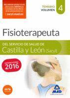 FISIOTERAPEUTA DEL SERVICIO DE SALUD DE CASTILLA Y LEÓN (SACYL).