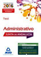 ADMINISTRATIVOS DE LA JUNTA DE ANDALUCÍA. PROMOCIÓN INTERNA TEST