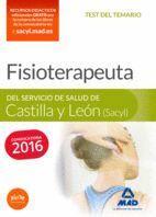 FISIOTERAPEUTA DEL SERVICIO DE SALUD DE CASTILLA Y LEÓN (SACYL).  TEST