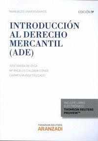 INTRODUCCIÓN AL DERECHO MERCANTIL (ADE)