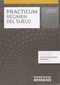 PRACTICUM RÉGIMEN DEL SUELO 2015 (PAPEL + E-BOOK)