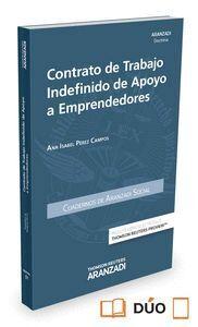 CONTRATO DE TRABAJO INDEFINIDO DE APOYO A EMPRENDEDORES (PAPEL + E-BOOK)
