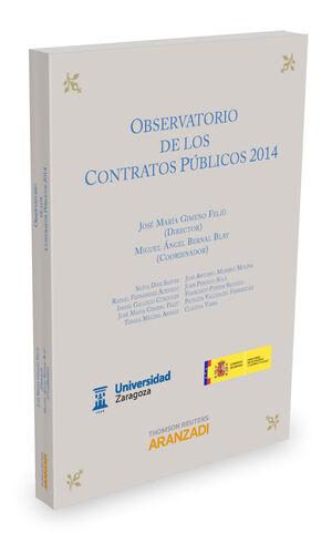 OBSERVATORIO DE LOS CONTRATOS PÚBLICOS 2014