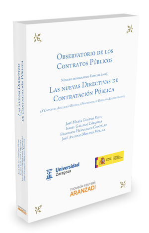 LAS NUEVAS DIRECTIVAS DE CONTRATACIÓN PÚBLICA