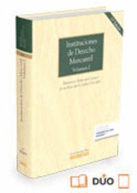 INSTITUCIONES DE DERECHO MERCANTIL. VOLUMEN II (PAPEL + E-BOOK)