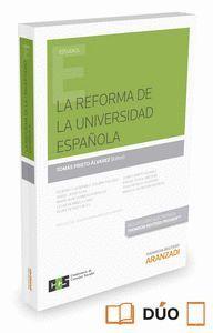 LA REFORMA DE LA UNIVERSIDAD ESPAÑOLA (PAPEL + E-BOOK)