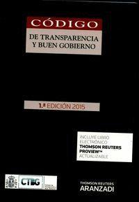 CÓDIGO DE TRANSPARENCIA Y BUEN GOBIERNO (PAPEL + E-BOOK)