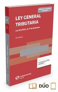 LEY GENERAL TRIBUTARIA (PAPEL + E-BOOK) LEY 58/2003, DE 17 DE DICIEMBRE