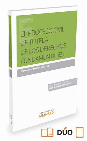 EL PROCESO CIVIL DE TUTELA DE LOS DERECHOS FUNDAMENTALES (PAPEL E-BOOK)