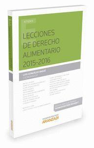 LECCIONES DE DERECHO ALIMENTARIO 2015-2016  (PAPEL + E-BOOK)