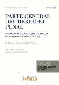 PARTE GENERAL DEL DERECHO PENAL (PAPEL + E-BOOK)