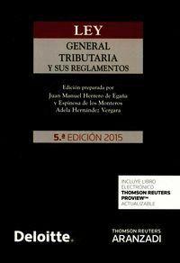 LEY GENERAL TRIBUTARIA Y SUS REGLAMENTOS (PAPEL + E-BOOK)