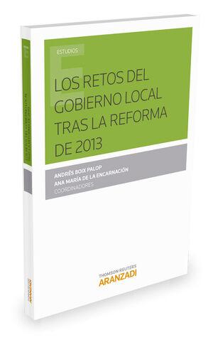 LOS RETOS DEL GOBIERNO LOCAL TRAS LA REFORMA DE 2013