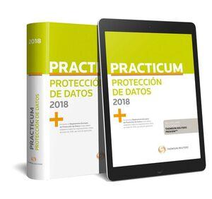 PRACTICUM PROTECCIÓN DE DATOS 2018 (PAPEL + E-BOOK)