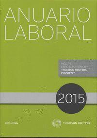 ANUARIO LABORAL 2015 (PAPEL + E-BOOK)