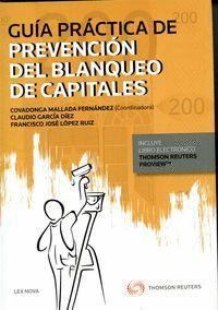 GUA PRÁCTICA DE PREVENCIÓN DEL BLANQUEO DE CAPITALES (PAPEL + E-BOOK)