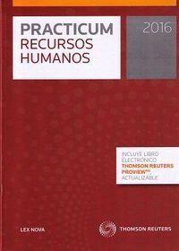 PRACTICUM RECURSOS HUMANOS 2016 (PAPEL + E-BOOK)