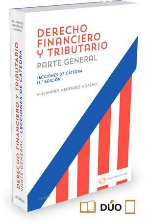 DERECHO FINANCIERO Y TRIBUTARIO. LECCIONES DE CATEDRA (PAPEL+E-BO