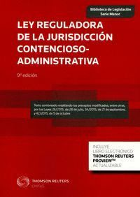 LEY REGULADORA DE LA JURISDICCIÓN CONTENCIOSO-ADMINISTRATIVA (PAPEL + E-BOOK) LEY 29/1998, DE 13 DE