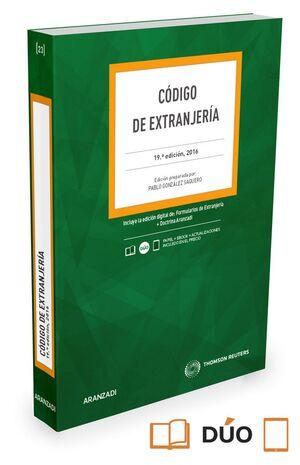 CÓDIGO DE EXTRANJERA (PAPEL E-BOOK)