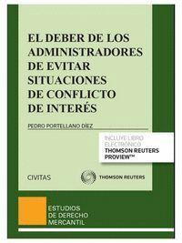 EL DEBER DE LOS ADMINISTRADORES DE EVITAR SITUACIONES DE CONFLICTO DE INTERÉS (PAPEL + E-BOOK)