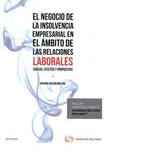 EL NEGOCIO DE LA INSOLVENCIA EMPRESARIAL EN EL ÁMBITO DE LAS RELACIONES LABORALES: CAUSAS, EFECTOS Y