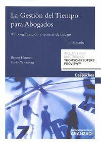 LA GESTIÓN DEL TIEMPO PARA ABOGADOS (PAPEL + E-BOOK) AUTOORGANIZACIÓN Y TÉCNICAS DE TRABAJO