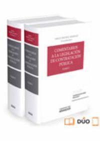 COMENTARIOS A LA LEGISLACION DE CONTRATACION PUBLICA 4 ED 2 VOL