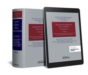 TRATADO DE DERECHO DE LA FAMILIA VOL IV REGIMENES ECONOMICOS MATRIMONIALES II DERECHO DE FAMILIA