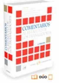 COMENTARIOS AL ESTATUTO DE LOS TRABAJADORES (PAPEL + E-BOOK)
