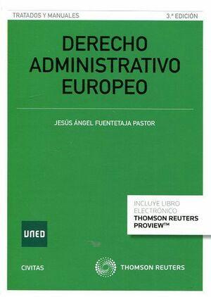 DERECHO ADMINISTRATIVO EUROPEO (PAPEL E-BOOK)