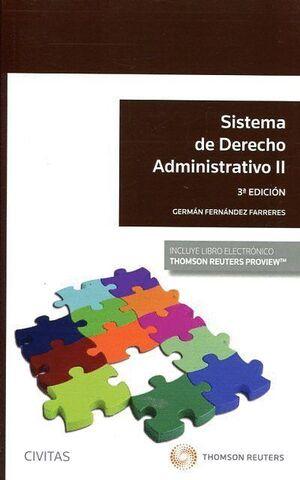 SISTEMA DE DERECHO ADMINISTRATIVO II (PAPEL E-BOOK)