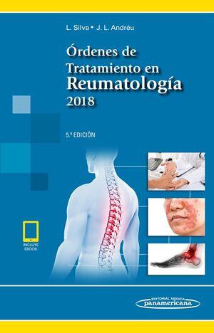 ÓRDENES DE TRATAMIENTO EN REUMATOLOGÍA 2018 (LIBRO + EBOOK)