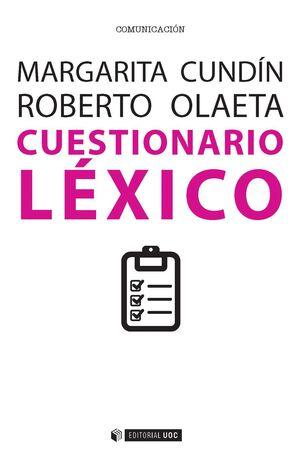 CUESTIONARIO LÉXICO