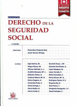 DERECHO DE LA SEGURIDAD SOCIAL 4ª EDICION 2015