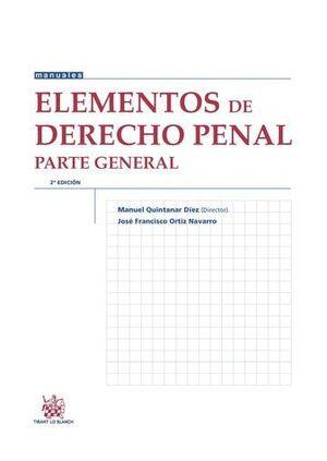 ELEMENTOS DE DERECHO PENAL PARTE GENERAL 2ª EDICIÓN 2015